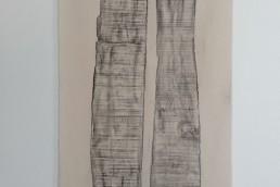 senza-titolo,-2021,-grafite-su-tela-173X90-cm
